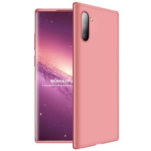 Θήκη GKK Full body Protection 360° από σκληρό πλαστικό για Samsung Galaxy Note 10 ροζ χρυσό