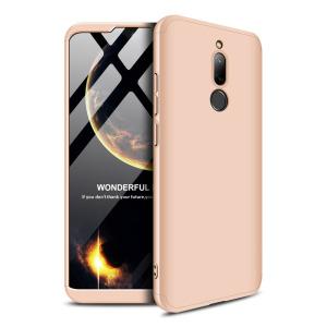 Θήκη GKK Full body Protection 360° από σκληρό πλαστικό για Xiaomi Redmi 8 χρυσό