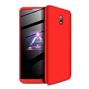 Θήκη GKK Full body Protection 360° από σκληρό πλαστικό για Xiaomi Redmi 8A κόκκινο