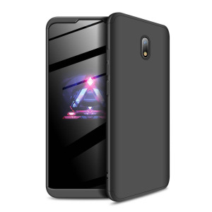 Θήκη GKK Full body Protection 360° από σκληρό πλαστικό για Xiaomi Redmi 8A μαύρο