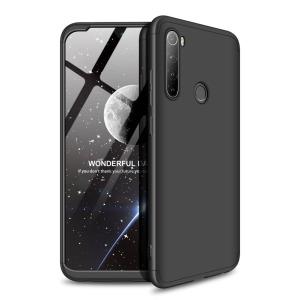Θήκη GKK Full body Protection 360° από σκληρό πλαστικό για Xiaomi Redmi Note 8 μαύρο