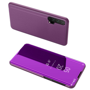 Θήκη Honor 20 Pro OEM Mirror Surface View Stand Case Cover Flip Window φούξια