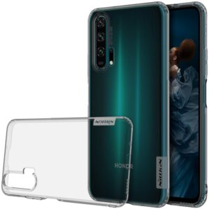 Θήκη Honor 20 Pro NiLLkin Nature Series 0.6mm Back Cover TPU γκρι διάφανη