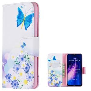 Θήκη Xiaomi Redmi Note 8 OEM Flowers and Butterflies με βάση στήριξης