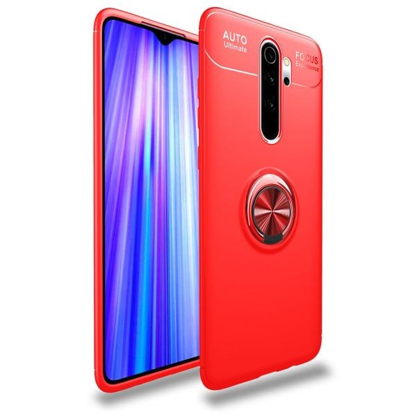 Θήκη Xiaomi Redmi Note 8 Pro OEM Magnetic Ring Kickstand / Μαγνητικό δαχτυλίδι / Βάση στήριξης Back Cover TPU κόκκινο