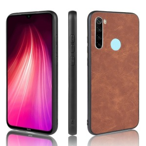 Θήκη Xiaomi Redmi Note 8 OEM Frame cell casing series Back Cover TPU καφέ