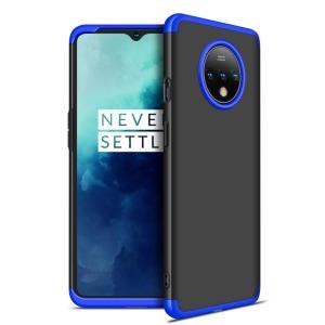 Θήκη GKK Full body Protection 360° από σκληρό πλαστικό για OnePlus 7T μαύρο / μπλε