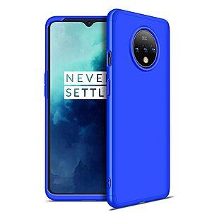 Θήκη GKK Full body Protection 360° από σκληρό πλαστικό για OnePlus 7T μπλε