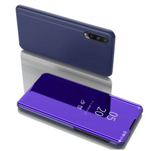 Θήκη Xiaomi Mi 9 Lite OEM Mirror Surface View Stand Case Cover Flip Window μπλε