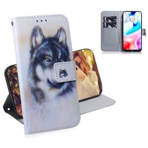 Θήκη Xiaomi Redmi 8 OEM Wolf με βάση στήριξης