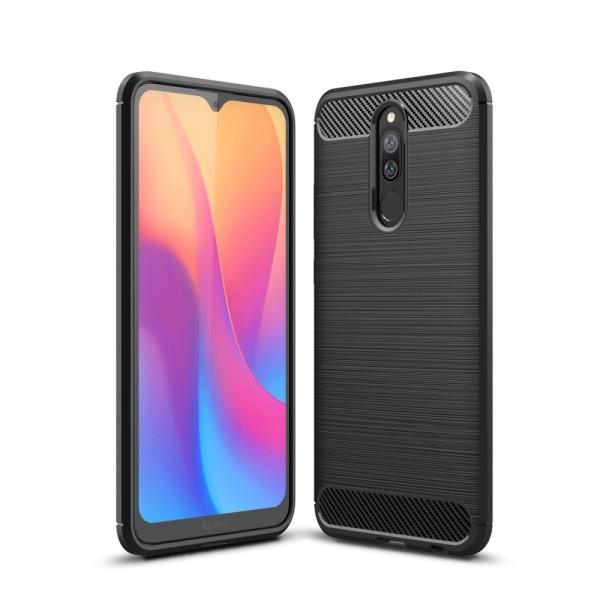Θήκη Xiaomi Redmi 8 OEM Brushed TPU Carbon μαύρο