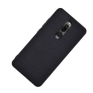 Θήκη Xiaomi Redmi 8 OEM Cloth Texture Πλάτη από ύφασμα και ενισχυμένο TPU μαύρο
