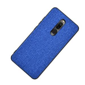 Θήκη Xiaomi Redmi 8 OEM Cloth Texture Πλάτη από ύφασμα και ενισχυμένο TPU μπλε