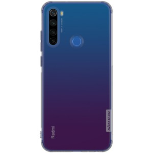 Θήκη Xiaomi Redmi Note 8T NiLLkin Nature Series 0.6mm Πλάτη TPU γκρι διάφανο