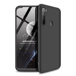 Θήκη GKK Full body Protection 360° από σκληρό πλαστικό για Xiaomi Redmi Note 8T μαύρο