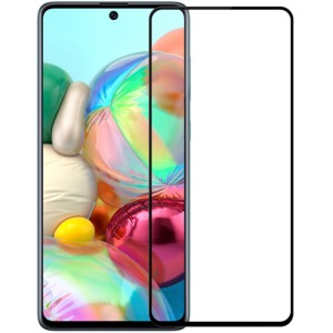 NiLLkin XD CP+ Max Full Arc Edge για Samsung Galaxy A71 (Πλήρης Κάλυψη) Αντιχαρακτικό γυαλί Tempered Glass 9H – μαύρο – 0.33mm