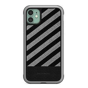 Θήκη iPhone 11 RAIGOR INVERSE Camille Series Πλάτη Shock-Proof από ύφασμα