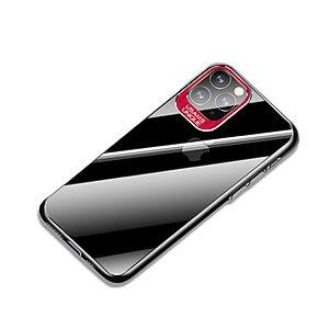 Θήκη iPhone 11 Pro Max USAMS Classic Series Πλάτη από Premium σκληρό πλαστικό με περίβλημα αλουμινίου για την κάμερα κόκκινο