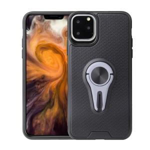 Θήκη iPhone 11 Pro Max OEM Magnetic Ring Kickstand v4 / Μαγνητικό δαχτυλίδι / Βάση στήριξης TPU γκρι
