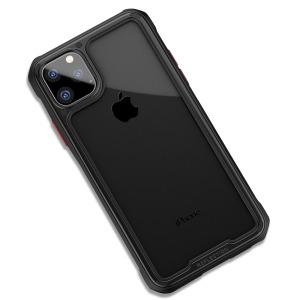 Θήκη iPhone 11 Pro Max IPAKY Mu Feng Series ανθεκτική και ελαφριά Πλάτη από ενισχυμένο Premium σκληρό TPU μαύρο