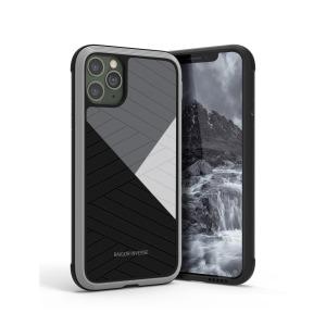 Θήκη iPhone 11 Pro Max RAIGOR INVERSE Beckley Series Πλάτη Premium Drop-Proof από σκληρό TPU μαύρο