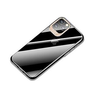 Θήκη iPhone 11 Pro Max USAMS Classic Series Πλάτη από Premium σκληρό πλαστικό με περίβλημα αλουμινίου για την κάμερα χρυσό