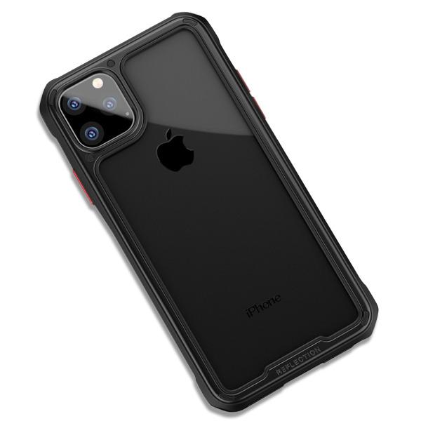Θήκη iPhone 11 Pro IPAKY Mu Feng Series ανθεκτική και ελαφριά Πλάτη από ενισχυμένο Premium σκληρό TPU μαύρο