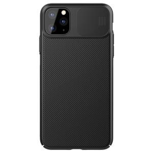 Θήκη iPhone 11 Pro NiLLkin Camshield Series Πλάτη με προστασία για την κάμερα από σκλήρό Premium TPU μαύρο
