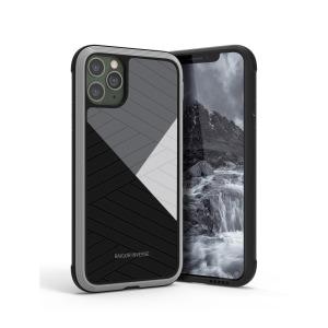 Θήκη iPhone 11 Pro RAIGOR INVERSE Beckley Series Πλάτη Premium Drop-Proof από σκληρό TPU μαύρο