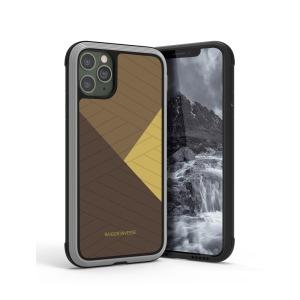 Θήκη iPhone 11 Pro RAIGOR INVERSE Beckley Series Πλάτη Premium Drop-Proof από σκληρό TPU χρυσό