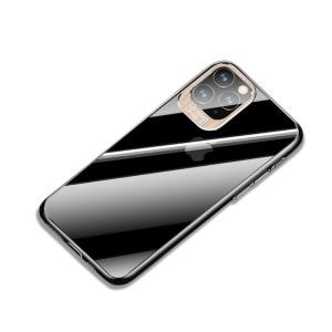 Θήκη iPhone 11 Pro USAMS Classic Series Πλάτη από Premium σκληρό πλαστικό με περίβλημα αλουμινίου για την κάμερα χρυσό