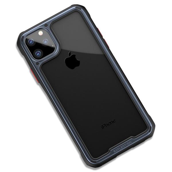 Θήκη iPhone 11 IPAKY Mu Feng Series ανθεκτική και ελαφριά Πλάτη από ενισχυμένο Premium σκληρό TPU γκρι