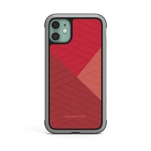 Θήκη iPhone 11 RAIGOR INVERSE Beckley Series Πλάτη Premium Drop-Proof από σκληρό TPU κόκκινο