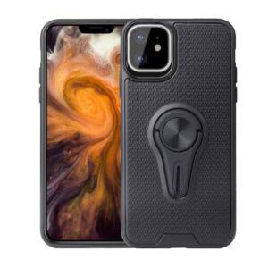 Θήκη iPhone 11 OEM Magnetic Ring Kickstand v4 / Μαγνητικό δαχτυλίδι / Βάση στήριξης TPU μαύρο