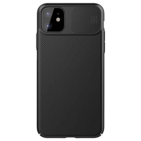 Θήκη iPhone 11 NiLLkin Camshield Series Πλάτη με προστασία για την κάμερα από σκλήρό Premium TPU μαύρο