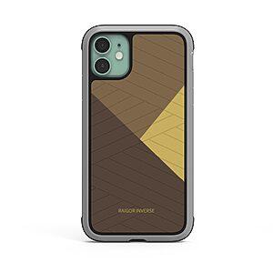 Θήκη iPhone 11 RAIGOR INVERSE Beckley Series Πλάτη Premium Drop-Proof από σκληρό TPU χρυσό