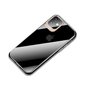 Θήκη iPhone 11 USAMS Classic Series Πλάτη από Premium σκληρό πλαστικό με περίβλημα αλουμινίου για την κάμερα χρυσό