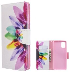 Θήκη Samsung Galaxy A51 OEM Colorful Petals με βάση στήριξης