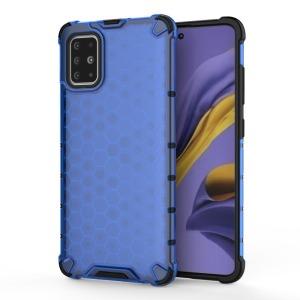 Θήκη Samsung Galaxy A51 OEM Honeycomb Series Πλάτη Hybrid Shock-Proof από ενισχυμένο πλαστικό και TPU μπλε