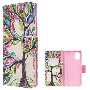 Θήκη Samsung Galaxy A71 OEM Colorized Tree με βάση στήριξης