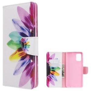Θήκη Samsung Galaxy A71 OEM Colorful Petals με βάση στήριξης