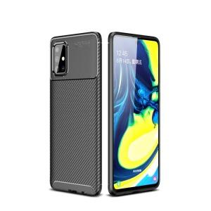 Θήκη Samsung Galaxy A71 OEM Beetle Series Carbon Fiber Πλάτη TPU μαύρο
