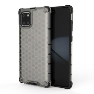 Θήκη Samsung Galaxy Note 10 Lite OEM Honeycomb Series Πλάτη Hybrid Shock-Proof από ενισχυμένο πλαστικό και TPU γκρι