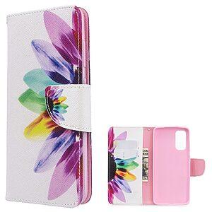 Θήκη Samsung Galaxy S20 OEM Colorful Petals με βάση στήριξης