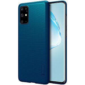 Θήκη Samsung Galaxy S20 Plus NiLLkin Super Frosted Shield Series Πλάτη από Premium σκληρό πλαστικό μπλε