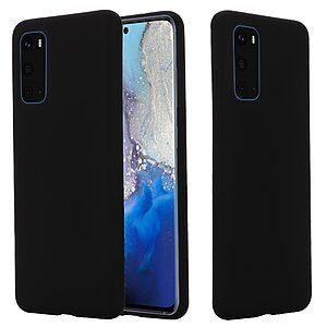 Θήκη Samsung Galaxy S20 Plus OEM Soft Liquid Silicone Πλάτη σιλικόνης μαύρο