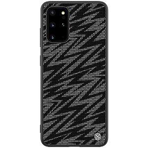 Θήκη Samsung Galaxy S20 Plus NiLLkin Twinkle Series Waves Πλάτη Hybrid από συνθετικό δέρμα και TPU γκρι