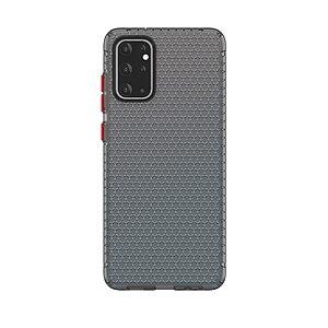 Θήκη Samsung Galaxy S20 Plus OEM Honeycomb Series V2 Πλάτη Premium Design TPU μαύρο