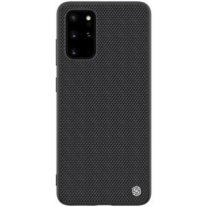 Θήκη Samsung Galaxy S20 Plus NiLLkin Textured Hard Case Series Πλάτη από ενισχυμένο πλαστικό και TPU μαύρο