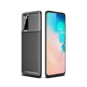 Θήκη Samsung Galaxy S20 OEM Brushed TPU Carbon Πλάτη μαύρο